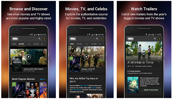IMDb Movies & TV v7.4.0.107400100 [Mod]