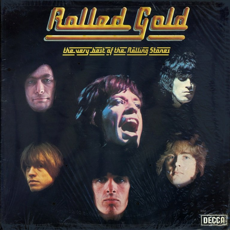 Download The Rolling Stones - Rolled Gold - 1975, FLAC [LP] [24/96