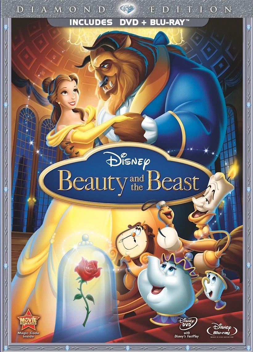 Beauty and the beast diamond edition blu-ray review | collider.