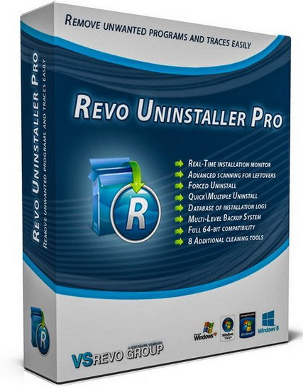 Revo Uninstaller Pro 3.2.1 Multilingual