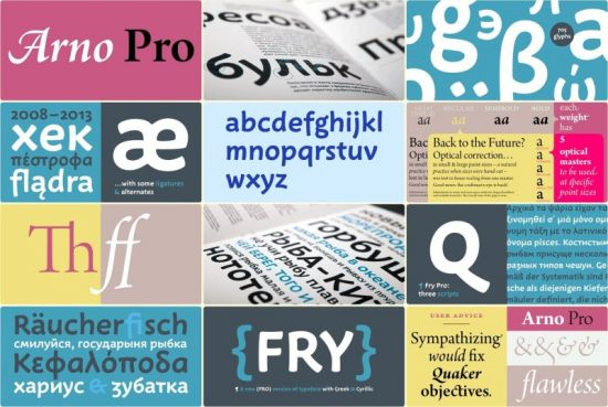 Download 33 Fonts Pro Arno & Fry - SoftArchive