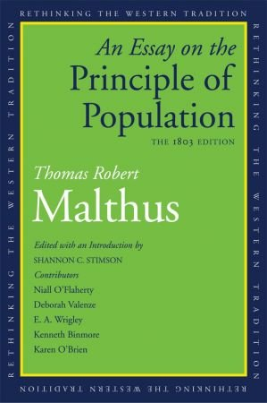 author of an essay on the principles of population An essay on the principle of population an essay on the principle of population, as it improvement of society and the author at first sat down with an.