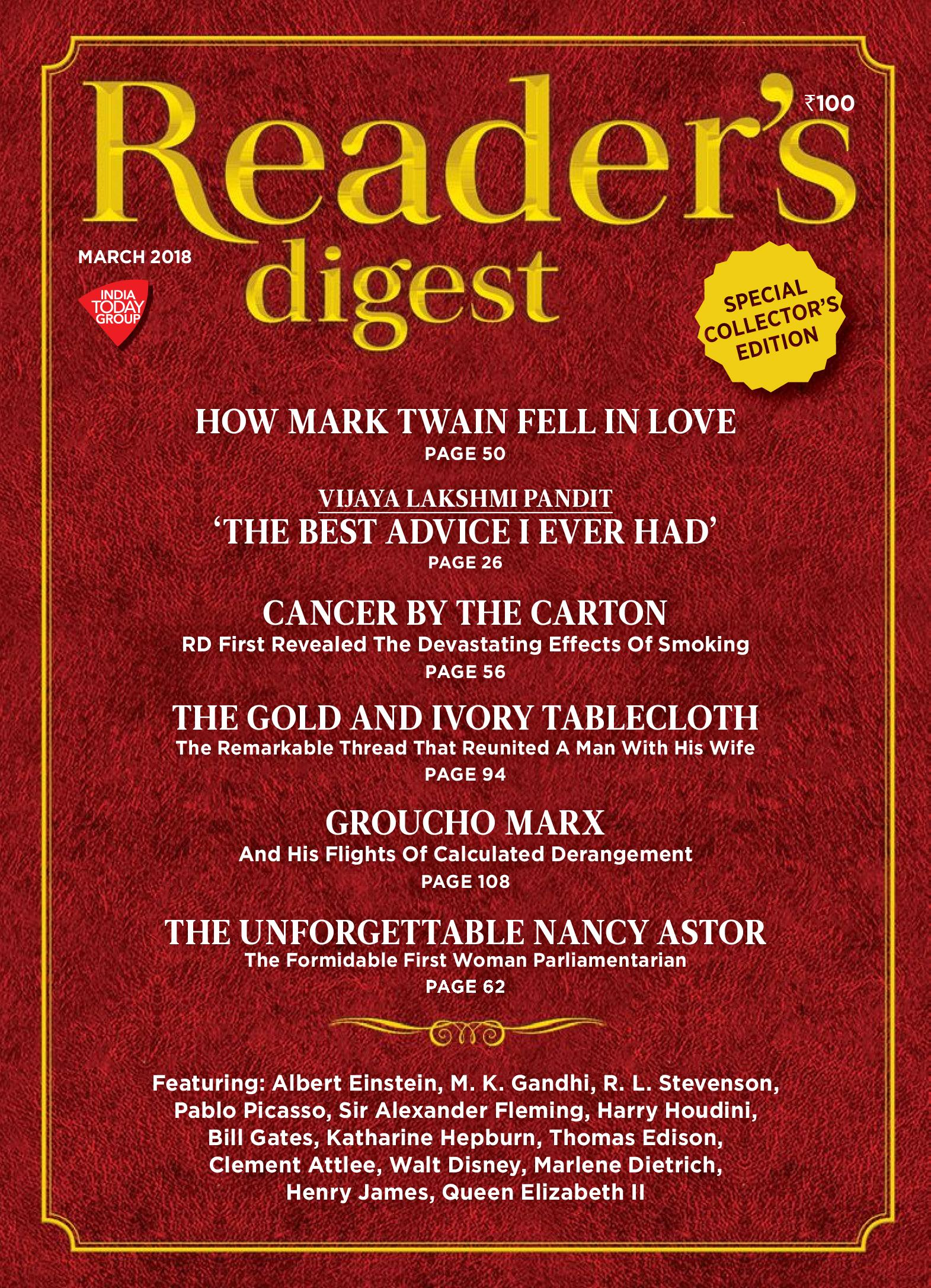 Readers Digest India Pdf
