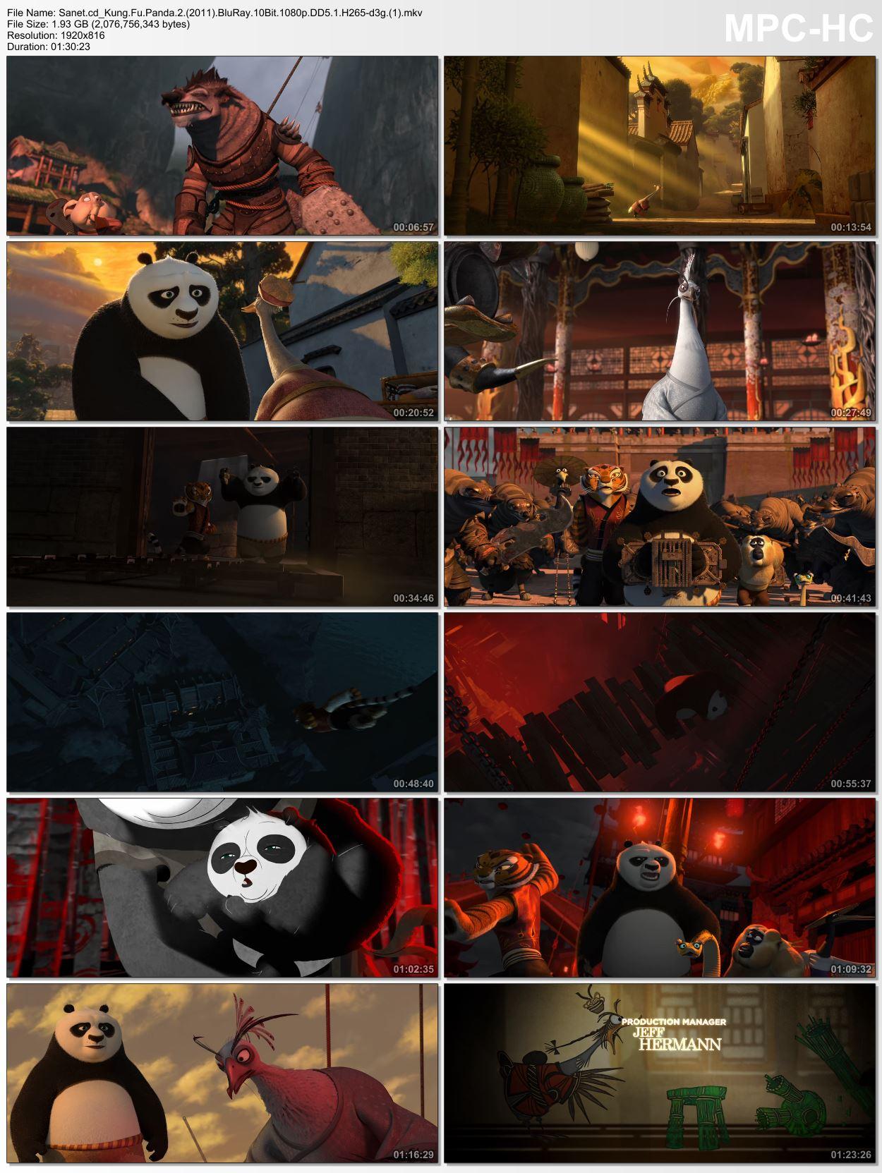 kung fu panda 2 1080p hindi