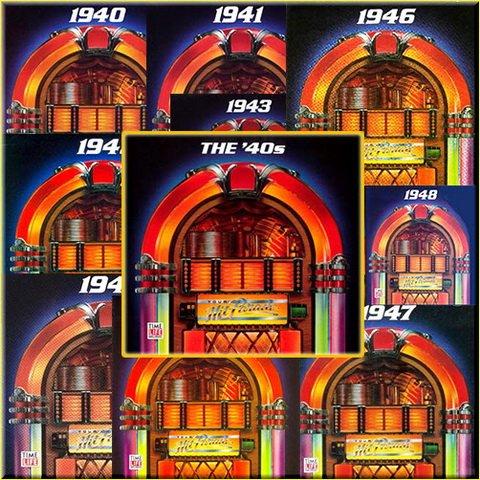 VA   Time Life Music: Your 40s Hit Parade [10CD Box Set] (1991) MP3