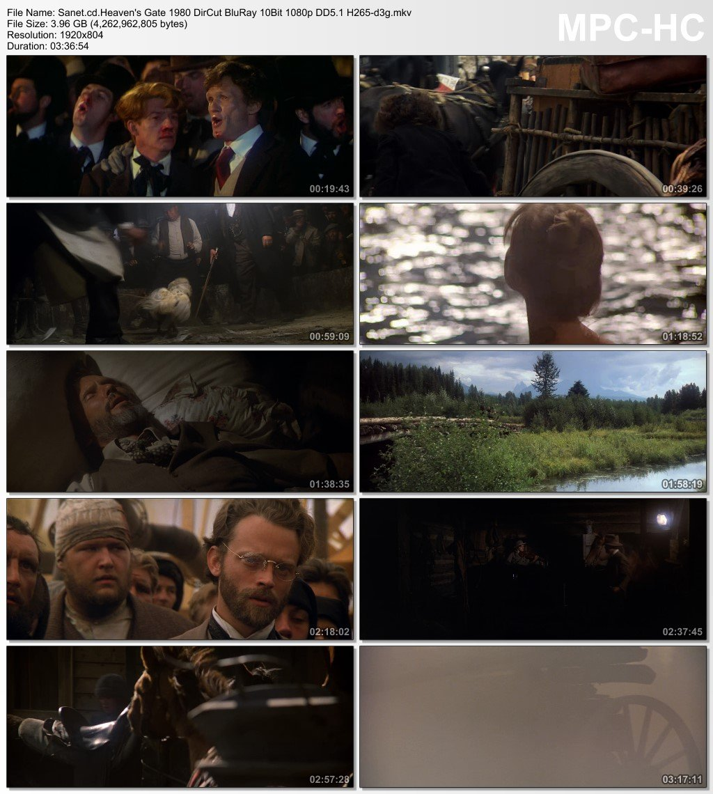Download Heavens Gate 1980 DirCut BluRay 10Bit 1080p DD5 1 H265-d3g