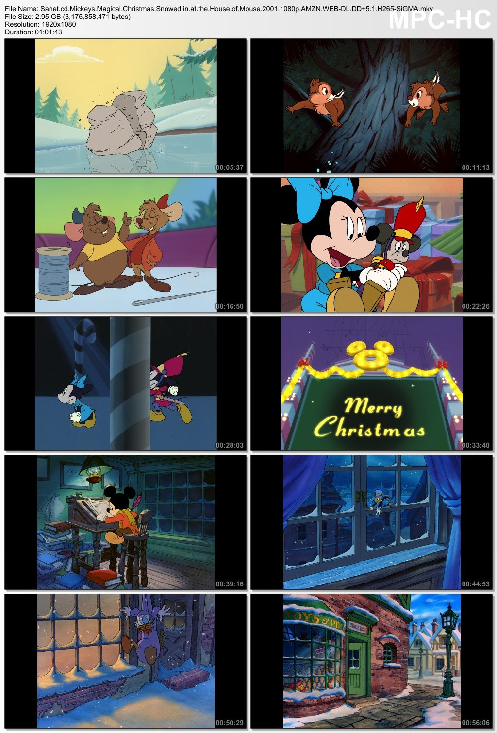 Mickeys Magical Christmas Snowed In At The House Of Mouse.Download Mickeys Magical Christmas Snowed In At The House Of