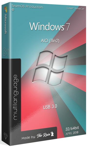 Download Windows 7 Sp1 AIO (x86x64) 11in2 Multilingual [usb