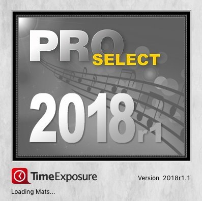 TimeExposure ProSelect Pro 2018r1.1 MacOS
