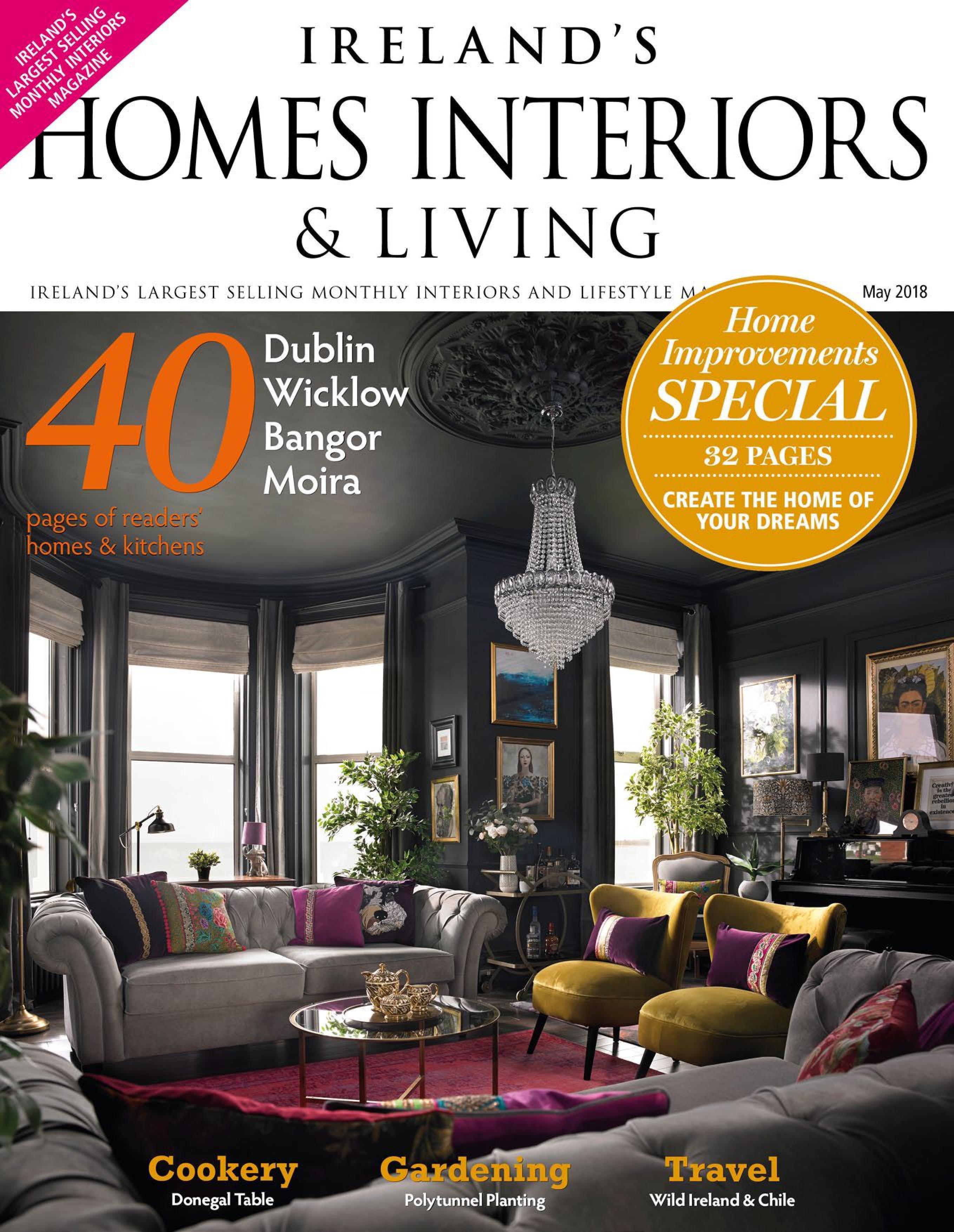 download ireland s homes interiors living may 2018 true pdf