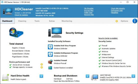 HDCleaner 1.128 Multilingual