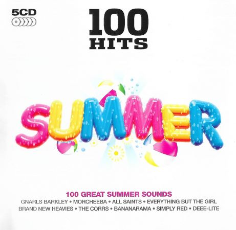 VA - 100 Hits Summer (5CD, 2015) MP3