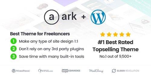 ThemeForest – The Ark v1.32.0 – WordPress Theme made for Freelancers