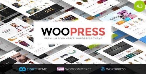 ThemeForest – WooPress v4.3 – Responsive Ecommerce WordPress Theme