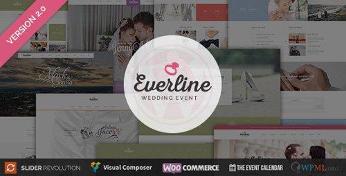 ThemeForest – Everline v2.0.0 – Wedding Event – WordPress Theme