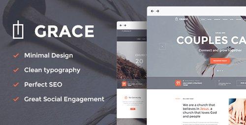 ThemeForest – Grace v2.1 – Church Religion WordPress Theme