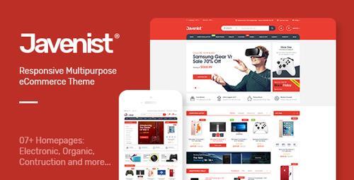 ThemeForest – Javenist v1.1 – Multipurpose eCommerce WordPress Theme
