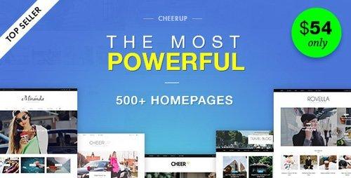 ThemeForest – CheerUp v5.1.0 – Blog Magazine / WordPress Blog Theme