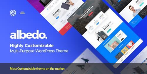 ThemeForest – Albedo v1.0.26 – Highly Customizable Multi-Purpose WordPress Theme