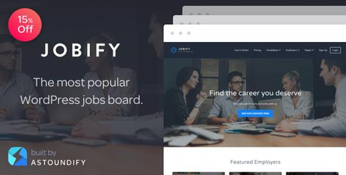 ThemeForest – Jobify v3.9.0 – The Most Popular WordPress Job Board Theme
