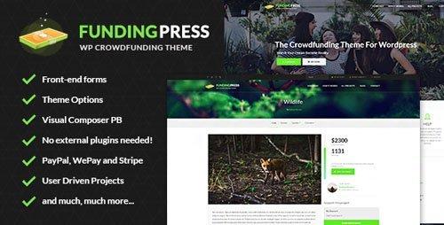 ThemeForest – Fundingpress v4.2.1 – The Crowdfunding WordPress Theme