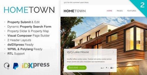 ThemeForest – Hometown v2.6.13 – Real Estate WordPress Theme