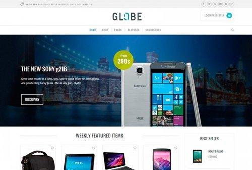 YiThemes – YITH Globe v1.2.3 – Hi-tech WordPress E-commerce Theme