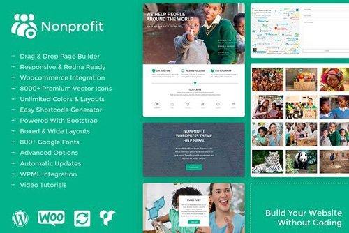 Nonprofit v1.0.0 – WordPress Theme