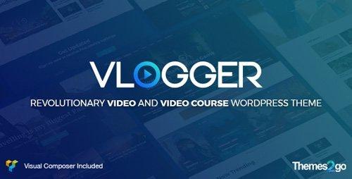 ThemeForest – Vlogger v1.5.1 – Professional Video & Tutorials WordPress Theme
