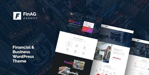 ThemeForest – Finag v1.0 – Creative & Finance Agency WordPress Theme