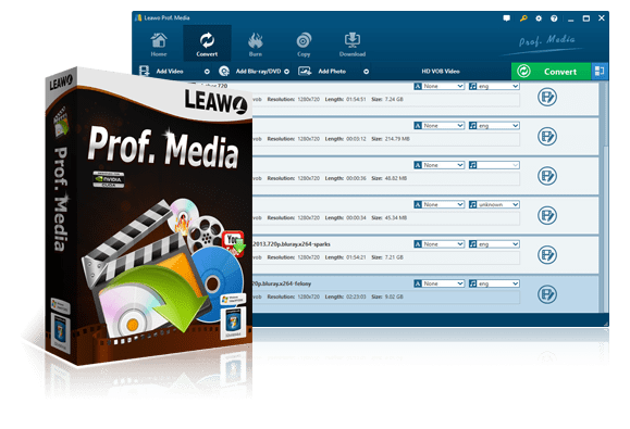 Leawo Prof. Media 7.9.0.0 Multilingual
