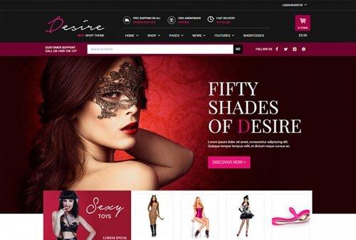 YiThemes – YITH Desire Sexy Shop v1.1.9 – Intriguing WordPress Theme