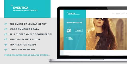 ThemeForest – Eventica v1.15.1 – Event Calendar & Ecommerce WordPress Theme