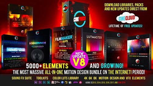 Videohive 5000+ Elements CINEPUNCH Video Creator MEGA Bundle V8 20601772