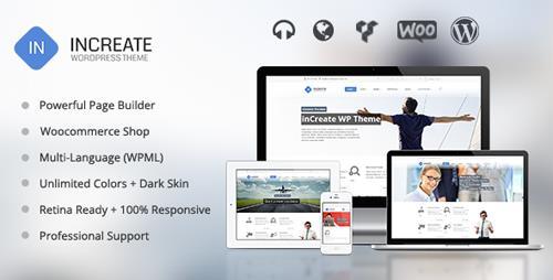 ThemeForest – inCreate v1.2.5 – Responsive MultiPurpose WordPress Theme