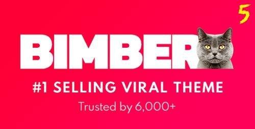 ThemeForest – Bimber v5.6 – Viral Magazine WordPress Theme