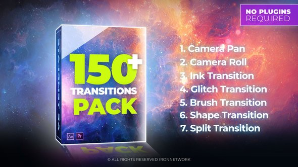 Download Transitions 21637768 - Project for After Effects (Videohive