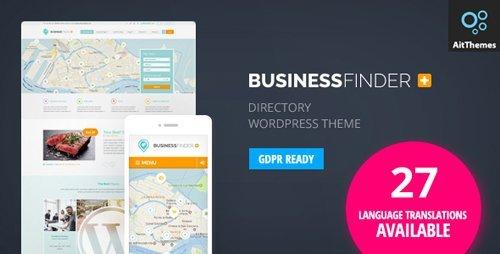 ThemeForest – Business Finder v2.31 – Directory Listing WordPress Theme