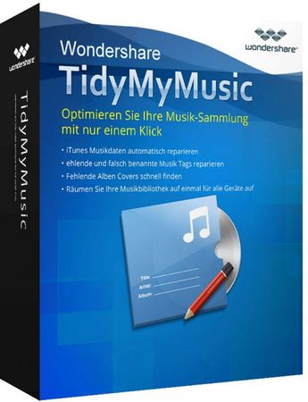 Wondershare TidyMyMusic 1.6.1.5 Multilingual