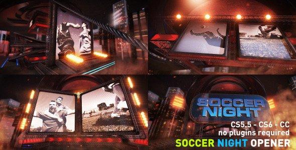 Videohive Soccer Night Opener 8686953