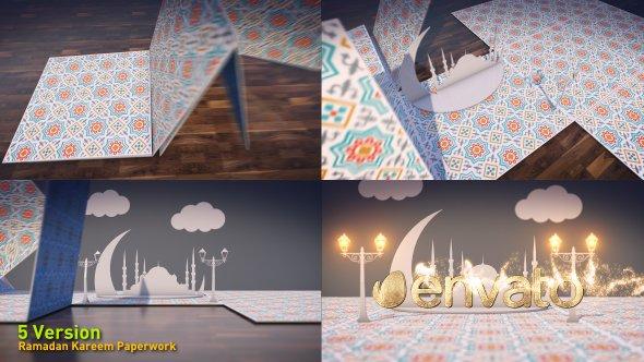 Videohive Ramadan Kareem Paperwork 20080925