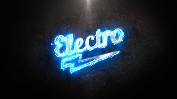 Videohive Electro Light Logo 21846203