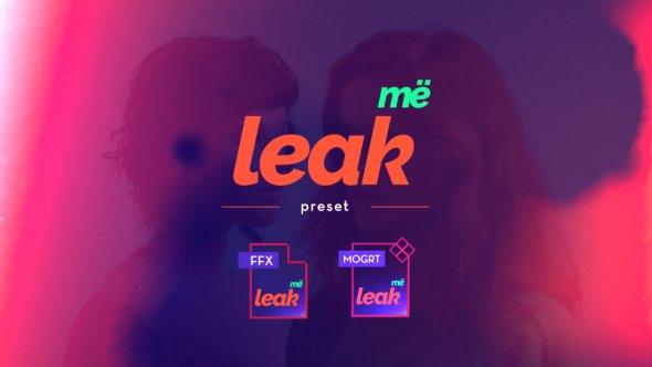 Videohive Leak Me Preset 20315049