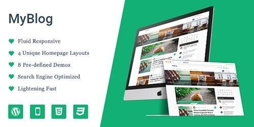 MyThemeShop – MyBlog v1.1.3 – Professional WordPress Theme, Inspired by Medium.com's Design