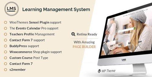 ThemeForest – LMS v5.1 – Learning Management System, Education LMS WordPress Theme
