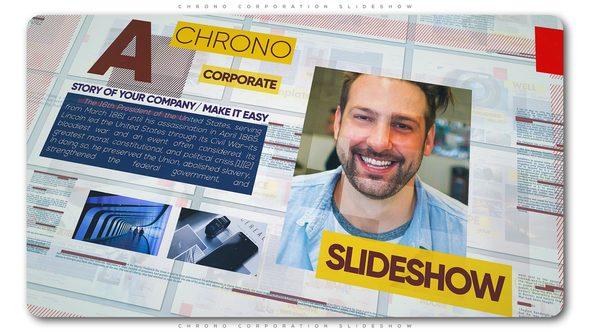 Videohive Chrono Corporation Slideshow 21662792