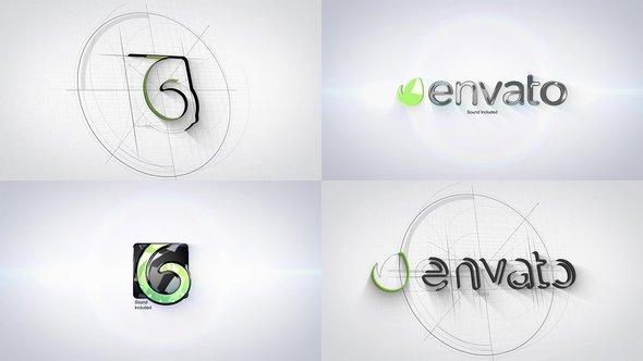 Videohive Architect Tech Logo 21890178
