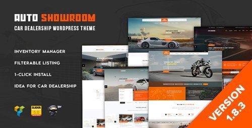 ThemeForest – Auto Showroom v1.8.3 – Car Dealership WordPress Theme