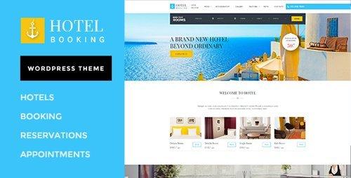 ThemeForest – Hotel Booking v1.4 – WordPress Theme for Hotels