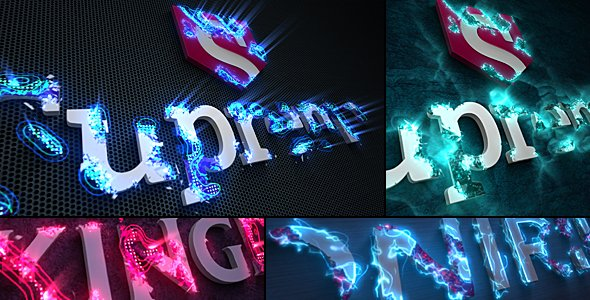 Videohive Sci-Fi Energy - Logo Reveal Pack 21190788